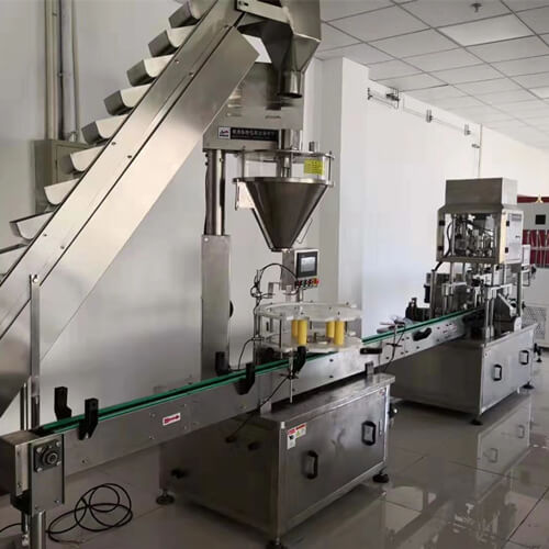 Protein Powder Filling Line in Canada