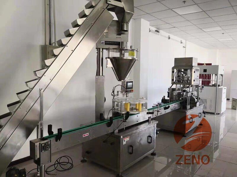 automatic milk powder filling line