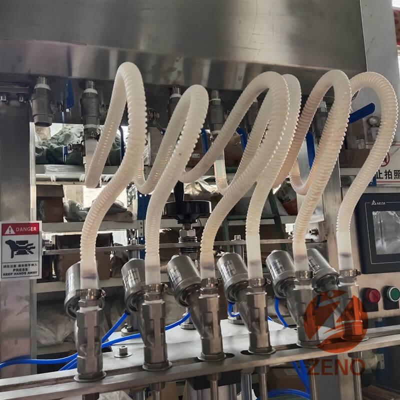 parts of liquid filling machine