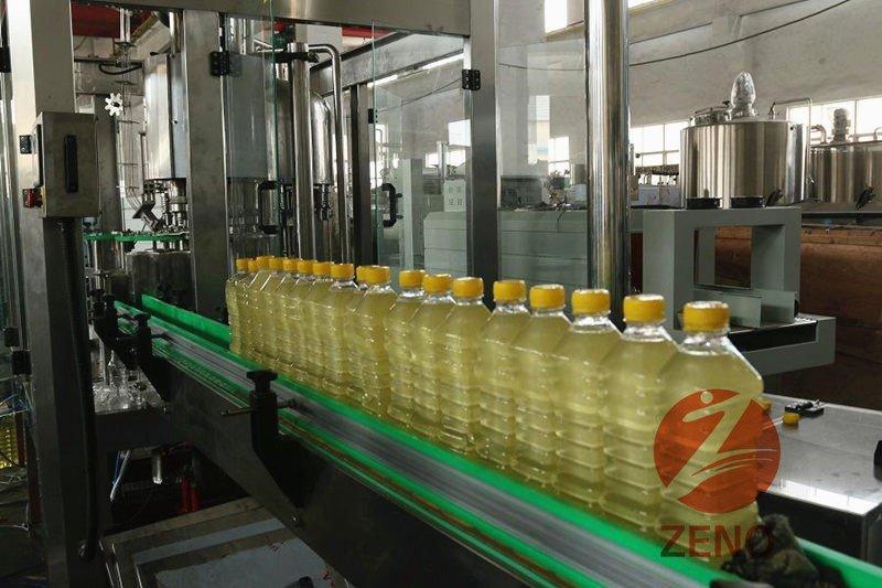 automatic oil filling machine
